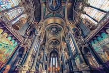 Inside The Basilica Of Notre-D...