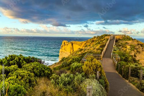 Fabulous Pacific coast near Melbourne. Fototapet