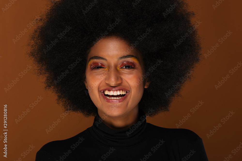 Fototapeta Beautiful afro woman