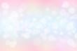 Leinwandbild Motiv Pastel color tone bokeh abstact background.