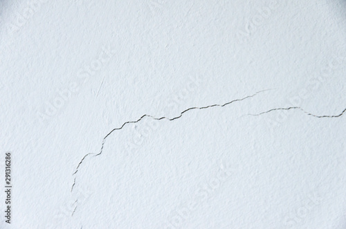 Fotomural Crack on the wall