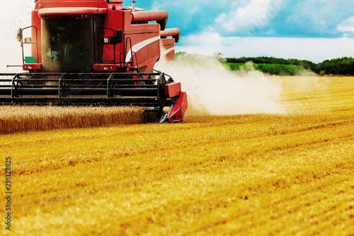 Obraz na plátně  Agriculture in action