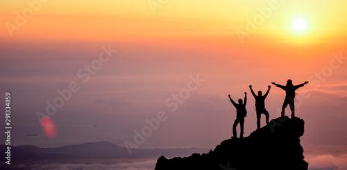 Fototapeta Summit Success