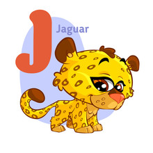 Jaguar ABC Alphabet