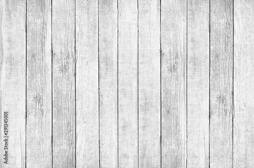 Background of old rough boards painted white Canvas-taulu