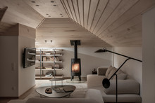 Light Illuminated Interior Wit...