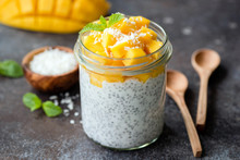 Healthy Chia Coconut Pudding W...