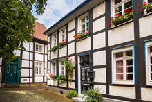 Historic Town Unna In Germany