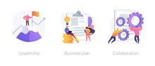 Business Success Basics Icons ...