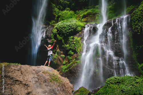 Photo  Grombong waterfall