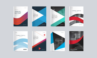 Abstract cover design background template for company profile, annual report, brochures, flyers, presentations, magazine, and book