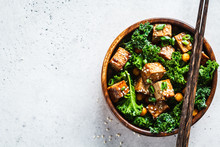Teriyaki Tofu Salad With Kale ...