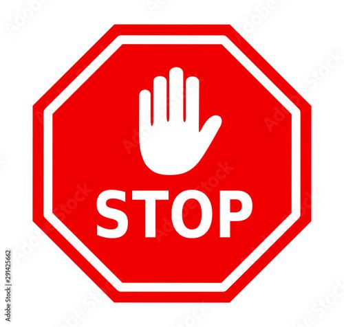 Photo znak stop