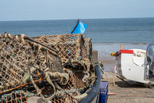 2 Close Up Of Lobster Pots And...