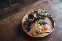 Japanese Dessert Anmitsu