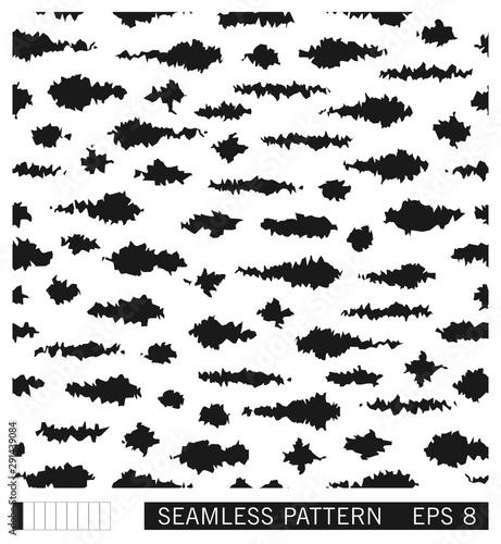 Foto auf AluDibond Boho-Stil Seamless grunge spotted pattern