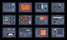 Control Panels From Space Ship...