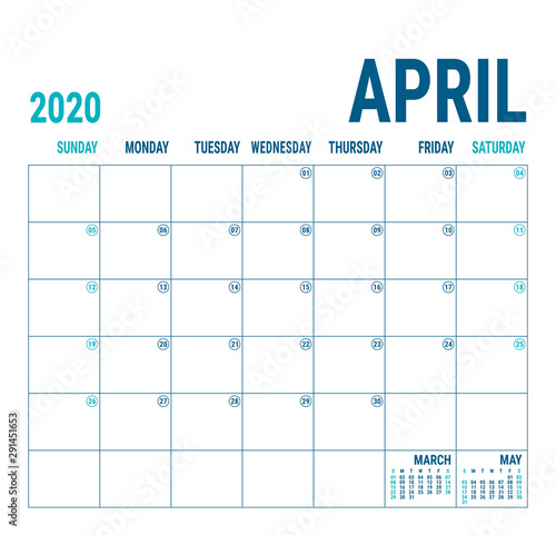 April 2020 Wallpaper Mural