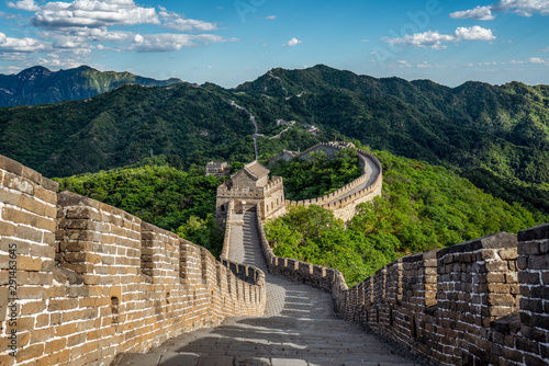 Photo sur Toile Muraille de Chine Great Wall - Chinesische Mauer
