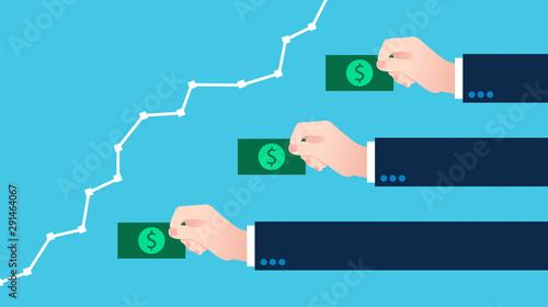 Valokuvatapetti soldi, guadagni, spese, denaro, monete, pagare