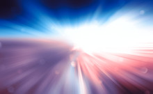 Zoom, Blue Pink Light Zoom Eff...