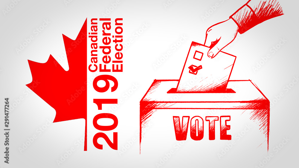 Fototapety, obrazy: Canadian Federal Election