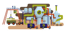 Concept Of Industrial Plant Fo...