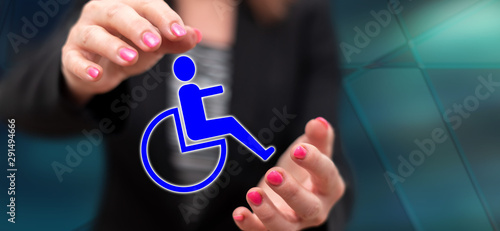 Photo Concept of disability insurance
