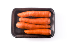 Carrots Packaged In Plastic Is...