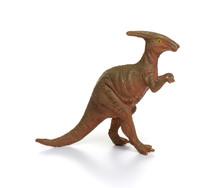 Plastic Dinosaur Toy Isolated ...