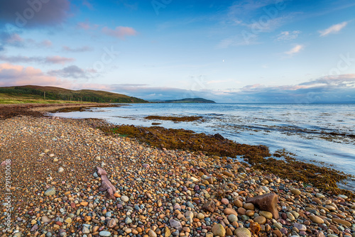 Machrie Bay on the Isle of Arran in Scotland Canvas Print