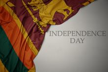 Waving Colorful National Flag ...