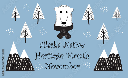 Photo  National Native American Heritage Month celebrated in November in USA