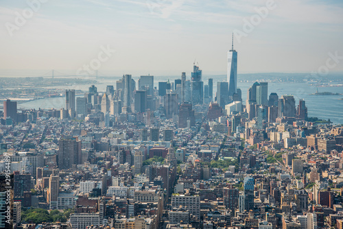 Panoramic View of the Empire State Building 04 Canvas Print