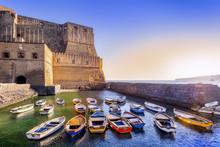 Castel Dell Ovo In Napoli, Italy