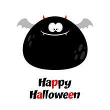 Fat Bat Looking Like A Monster...