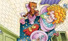 Criança Tomando Banho Em Uma