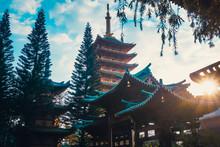 Minh Thanh Pagoda In Pleiku Ci...