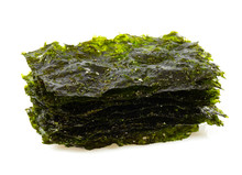 Seaweed Chips Isolated On White
