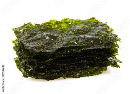 Fotografie, Obraz seaweed chips isolated on white
