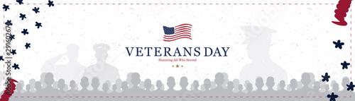 Fotografie, Obraz  Veterans Day