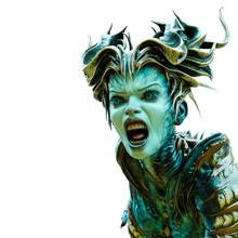 Alien Queen Screaming