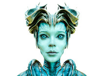 Alien Queen Id Portrait