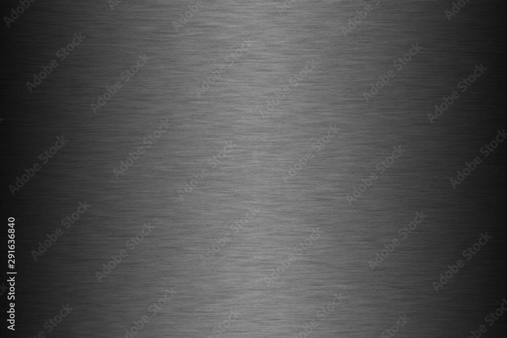 Fototapeta brushed metal background