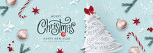 Christmas Decorative Border Ma...