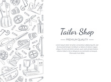 Tailor Shop Banner Template Wi...