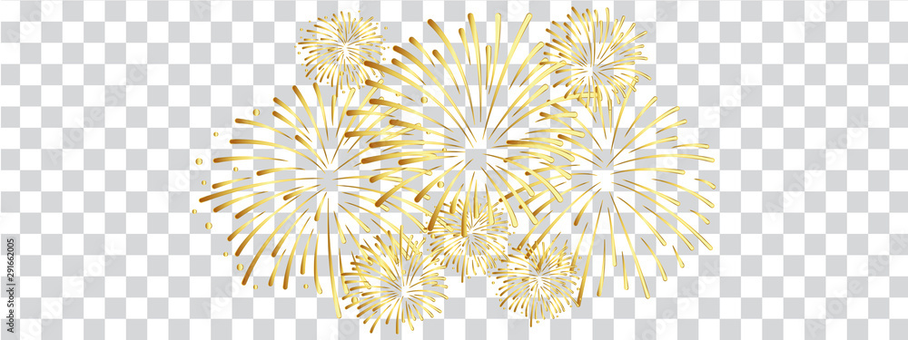 Fototapeta Feuerwerk