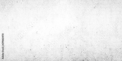 Obraz Abstract halftone dotted background. Grunge effect vector texture - fototapety do salonu