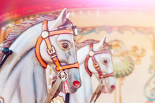 Carousel Horse. Fragment Of A ...