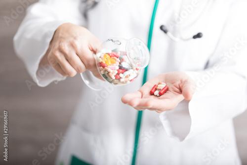 Médicos y Farmacéuticos Fototapet